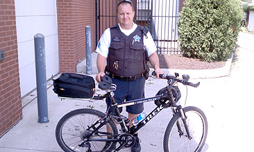 Chicago Police-Bike Patrol-Noseless Saddle-Sgt. Allen Cain