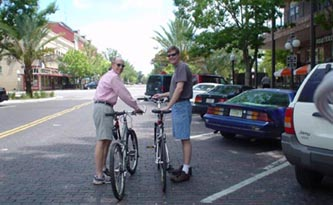 Fred & Dave - Spiderflex - Bicycle Seat - California - Florida