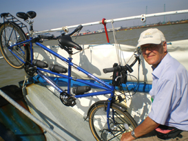 Lesley's Bicycle - 320 km in 10 days with Spiderflex seat installed