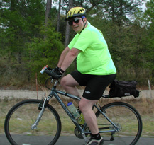 Greg does 50-80 miles per week with his Spiderflex Saddle as well as Century Rides of 100 miles.